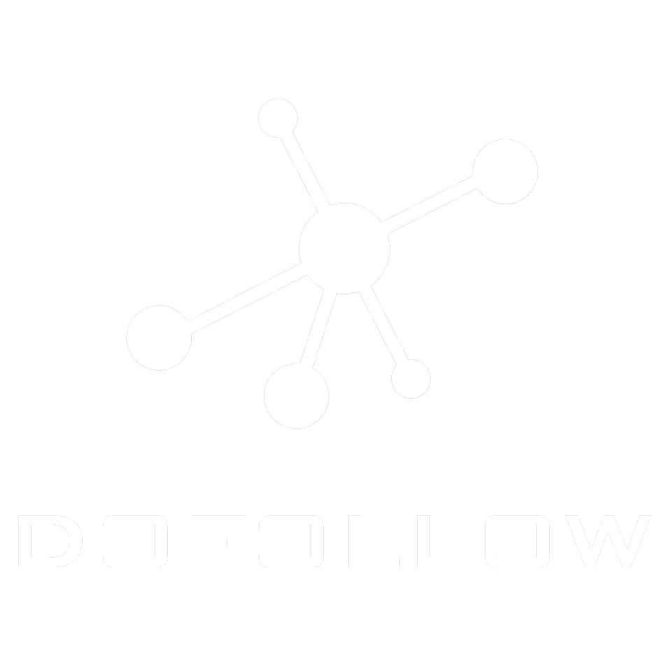 dofollow logotype white